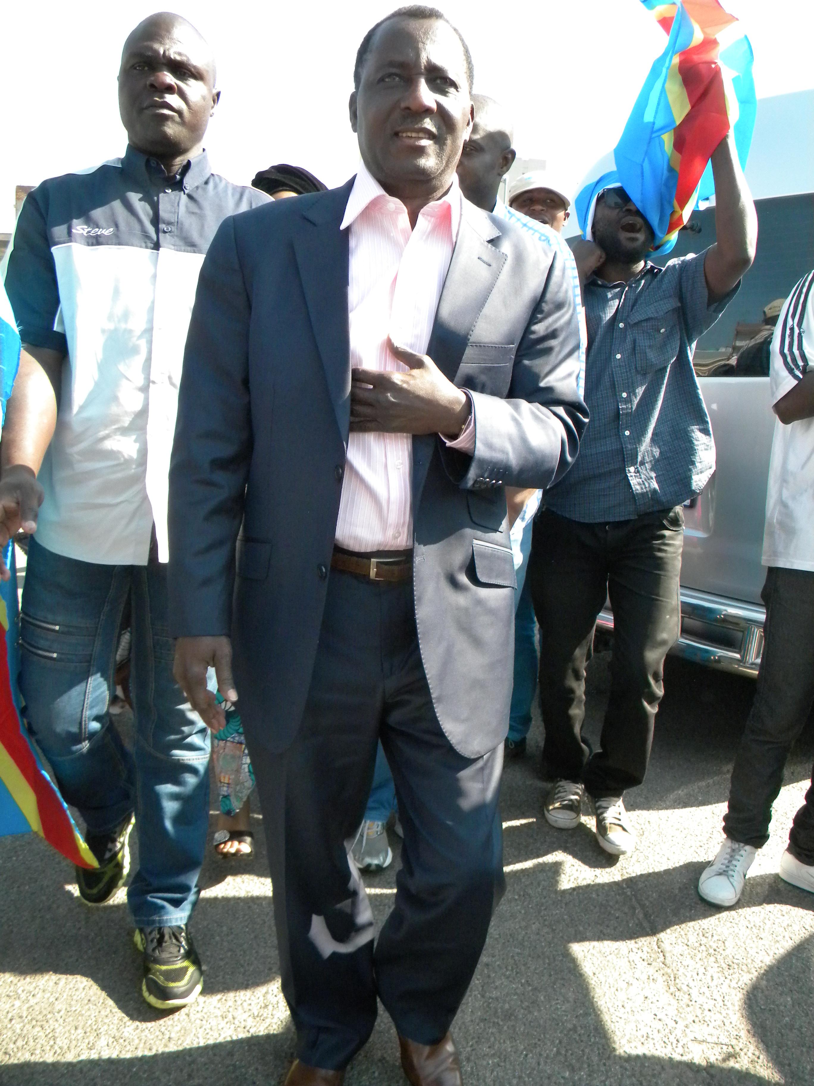 Prophète de l'Éternel, Joseph Mukungubila, le 13 octobre 2014 à Johannesburg, Afrique du Sud