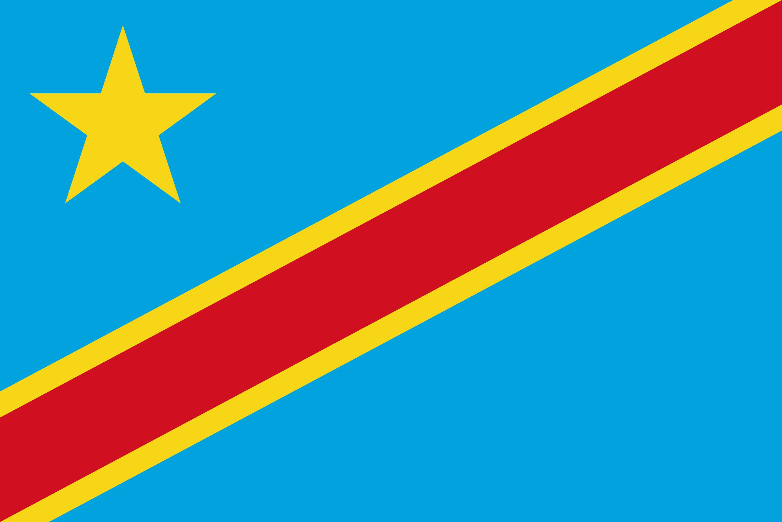 Drapeau de la RD Congo